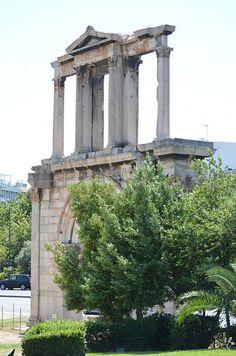 Hadrian's Gate - Athens, Greece