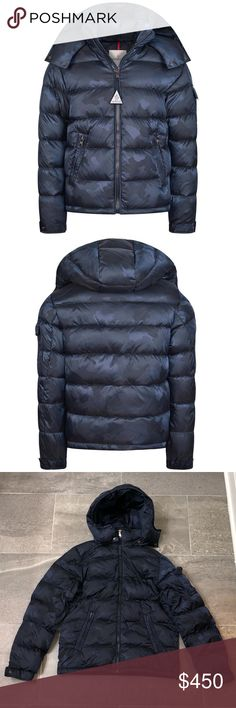 Joe Wenko Mens Camo Mid-Long Parkas Hoodies Autumn Winter Outside Quilted Down Coat
