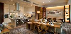 The Executive Lounge spread at the Conrad Tokyo