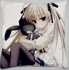Decorative Japanese Anime Throw Pillow Covers Cushion Covers Pillowcase Yosuga No Sora Sora Kasugano, 16x16 Double-sided Design by Creative Craft. $19.99. This is a throw pillow cover,fillings are not included. It has two-sided designs like the image. And decorate your bed ?sofa? chair and etc. Be made with great material. And will be a novelty as a suitable gift for ANIME fans in birthday?Christmas day?Thanksgiving and etc. And this item can be supported to customize. Mo...