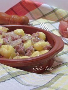 gnocchi con salsiccia