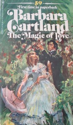 Barbara Cartland Books and Cover Art: Search results for magic of love