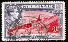 Gibraltar 1938 SG 126 Moorish Castle Fine Used                    SG 126 Scott 113 Other Commonwealth Stamps here
