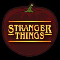 Stranger Things 02 - Pumpkin Stencil