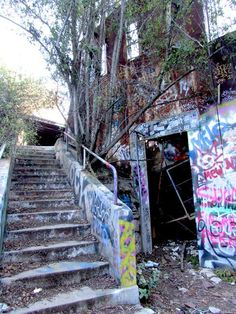 Tucked away like a repressed memory is one of Los Angeles's strangest historical sites, inside one of its richest communities. Situated off the Rustic Canyon trail in Topanga State Park, it mixes hiking with World War II-era Nazi history.