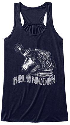 Brewnicorn Midnight T-Shirt Front