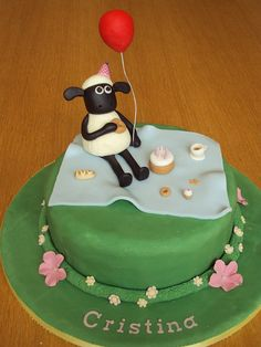 Inspiration for Mae's Shaun the Sheep theme 1st Birthday Party.