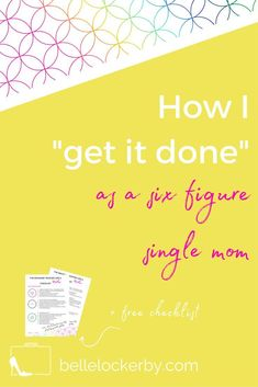 Entrepreneur Tip: How I get it done as a business running single mum