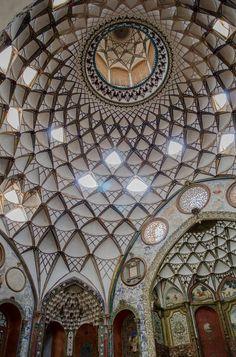 Borujerdi House in Kashan / Iran (by fotopamas)