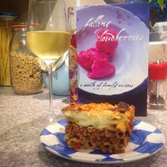 Supper tonight was yummy pastitsio. A recipe from one of my copies of #fallingcloudberries by #tessakiros #greekcuisine #supper #delicious