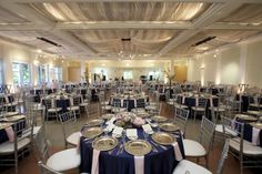 Blue And Silver Wedding Ideas | ... Atlanta wedding vendors contributed to Lindsey and Tyler's wedding