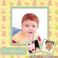 Check out my babe! Upload your photo to MakeMeBabies and try it for yourself! Gwen And Blake, Our Baby, Your Photos, Polaroid Film, Frame, Celebrities, Check, Amor, Picture Frame