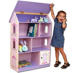 Dollhouse Bookcase from PoshTots