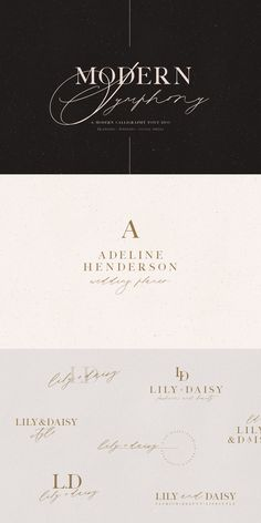 Intro Sale: Save 30% until December, 13! --- The Modern Symphony Font Duo is trending and elegant font pair that will bring in your design a unique style and luxury look. This font duo