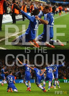 BLUE IS THE COLOUR