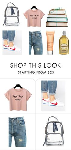 """#StreetStyle"" by leliuscris on Polyvore featuring moda, NIKE y Levi's"