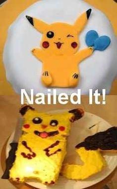 20. Pikachu Cookies | 31 Horrendous Pinterest Fail Monstrosities