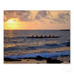 outrigger canoe paddlers- good times