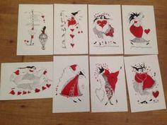 Art card is for sale at the Stavanger universitetssykeshus - SUS