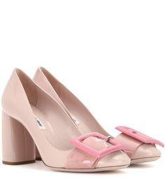 mytheresa.com - Patent leather pumps - Shoes - Miu Miu - Designers - Luxury Fashion for Women / Designer clothing, shoes, bags