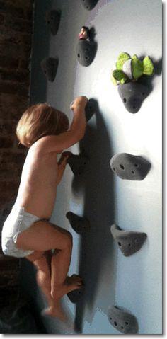 Children's Climbing Wall / Shelf TOTALLY ARNETT