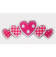 This free embroidery design is a bunch of hearts.  Perfect for Valentine's Day.  Enjoy!