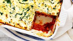 Sneak some extra veg into this flavoursome lasagne, with a mushroom bolognese and baby spinach leaves.