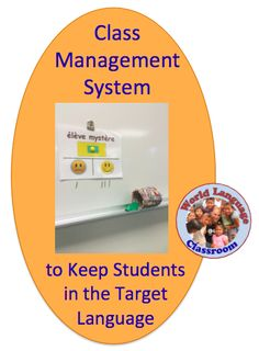 Helps Students Stay in the Target (Foreign, World) Language. (French, Spanish) w… Helps Students Stay in the Target (Foreign, World) Language. Foreign Language Teaching, French Language Learning, Spanish Teaching Resources, Teacher Resources, Teaching Ideas, French Resources, Teaching Methods, Teaching Strategies, Classroom Resources