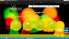 Diseño Web PROLED SAS Medan, Pereira, Design Web, Tecnologia