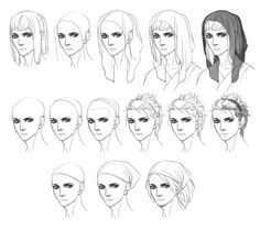 HAIR ACCESSORIES TUTORIAL by Christopher-Hart.deviantart
