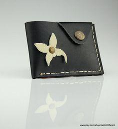 Wallet leather wallet woman slim wallet minimal wallet  genuine leather wallet credit card wallet card holder travel wallet