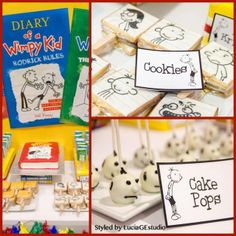 """Photo 3 of 4: Diary of a Wimpy Kid / Birthday """"A Wimpy Kid Birthday Party""""   Catch My Party"""