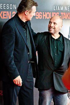 Olivier Megaton and Liam Neeson