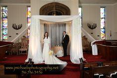 Orthodox Jewish wedding ~ Chuppah  Temple Hillel, No. Woodmere, New York  Keywords: #weddings #jevelweddingplanning Follow Us: www.jevelweddingplanning.com  www.facebook.com/jevelweddingplanning/