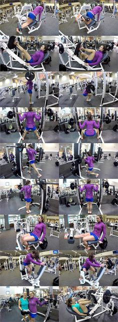10 Weeks To Fitness-Day 50: Legs & Calves
