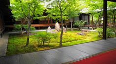 建仁寺 潮音庭(ちょうおんてい) 京都 2012年5月31日
