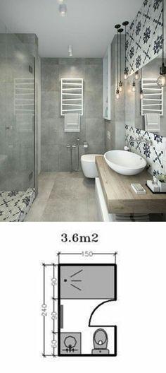 Shower Room Restoration Concepts: restroom remodel expense, bathroom ideas for s. - Shower Room Restoration Concepts: restroom remodel expense, bathroom ideas for small bathrooms, tin - Bathroom Layout, Bathroom Interior, Bathroom Ideas, Bathroom Cabinets, Mirror Bathroom, Shower Mirror, Shower Ideas, Modern Bathroom, Diy Shower