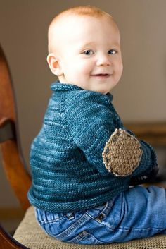 Another baby sweater...