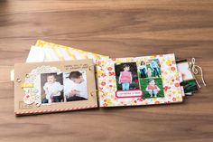 Love the adorable elements of the Mini Memories Simply Created Album kit. #MadeForMom
