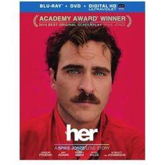 Her (Blu-ray + DVD + Digital HD) (Walmart Exclusive) (With INSTAWATCH) - Walmart.com