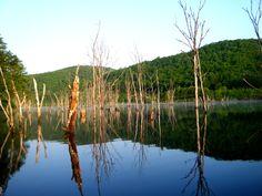 Ochiai lake Hokkaido, Japan