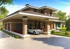 Проект кирпично-монолитного частного дома