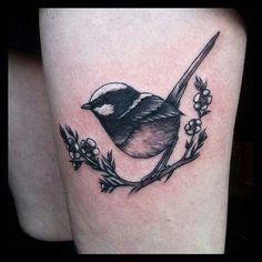 Cute wren tattoo by Rosie Roo #bird | Tattoos | Pinterest | Wren ...
