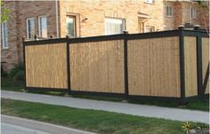 bamboo fence panels - Google Search