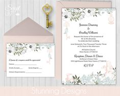 Pages Invitation Templates Free Pocket Wedding Invitation Set  Instant Download  Edit & Print At .