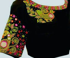 To order please whatsapp on +91 9618821933 https://www.facebook.com/DesignerBlouses9618821933/ #dressmaterials #dresses #designerblouse #latestcollection #maggamwork #designersarees #sarees #blouse #dress #materiales #saree #dressup