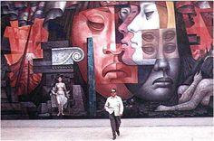 Jorge González Camarena y su grandioso mural PRESENCIA DE AMÉRICA LATINA en la República de Chile.