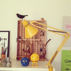 In my homeoffice. #retro #workspace #ikea  #myhomemycastle #fraufurtenbach
