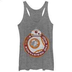 BB8 Join Resistance - #shirt #tee shirt design. I WANT THIS => https://www.sunfrog.com/Movies/BB8-Join-Resistance-103968426-Ladies.html?60505