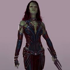 Gamora alternative suit revealed recently in a new concept art by Andy park Thanos Marvel, Marvel Fan, Marvel Comics, Character Concept, Character Art, Character Design, Character Ideas, Marvel Actors, Marvel Characters